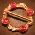 Ruby Ring Brooch