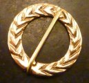 Laurel Wreath Brooch