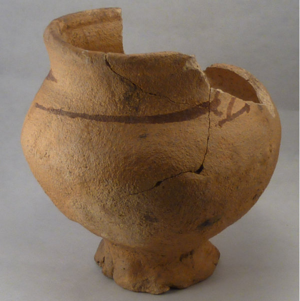11-12th Century Pot - Click Image to Close